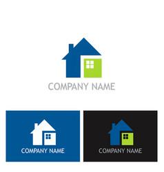 home square logo vector image