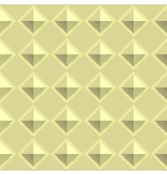 Tiles texture from gold metal blocks Seamless vector image vector image