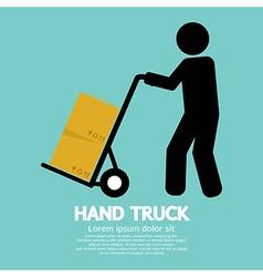 Hand Truck vector image vector image