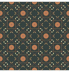seamless geometric pattern with arrows and spears vector image vector image