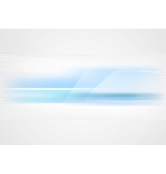 Bright abstract blue tech elegant background vector image