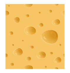 cheesy textural seamless pattern with holes vector image
