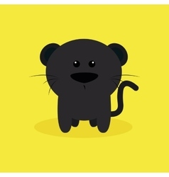 Cute Cartoon Jaguar vector