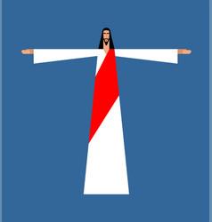 Jesus christ gods son biblical religious vector