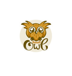 small and cute baowl for your logo vector image