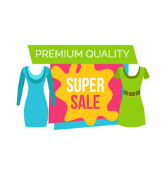 Super sale for female clothes of premium quality vector
