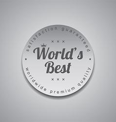 Worlds best vector