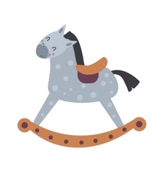 Toy horse vector image vector image