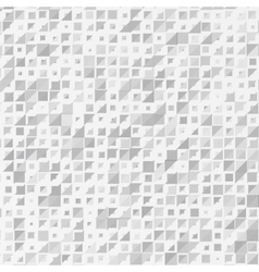 abstract background triangle white vector image