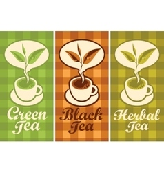 Cup of different tea vector
