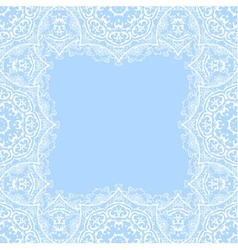 Decorative frame with copy space vector