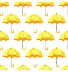 seamless umbrella pattern vector image