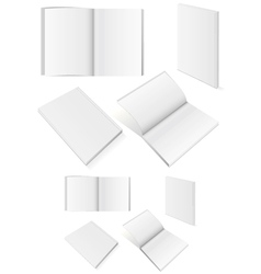 set books with softcover vector image