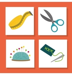 Sewing icon design vector