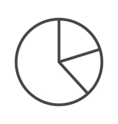 Chart Line Icon vector image