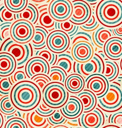 color circle pattern vector image