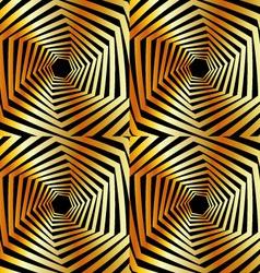 Golden furutistic background vector