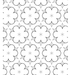 Abstract pattern in drawing style vector