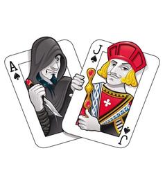Black Jack vector image