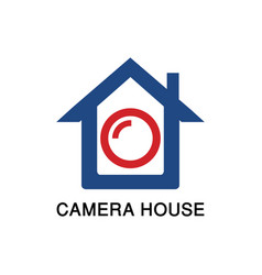 camera house image vector image