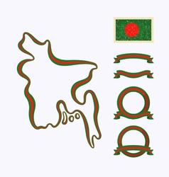Colors bangladesh vector