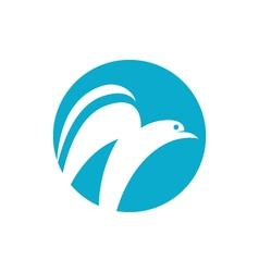 Dove logo vector image