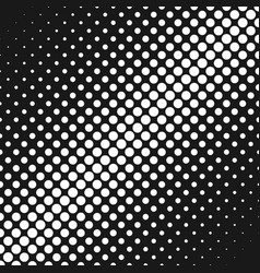 geometric abstract halftone circle pattern vector image