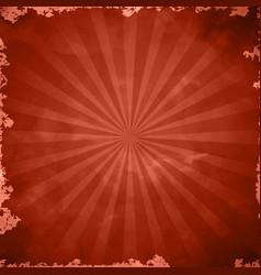 Red retro grange background vector