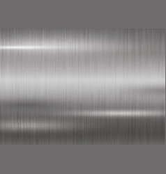 Silver metal texture background vector