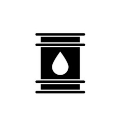 Tank oil icon on white background can be used vector