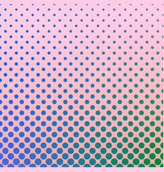 halftone gradient dot pattern background - vector image