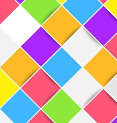 Colorful bright mobile web tiles layout vector image
