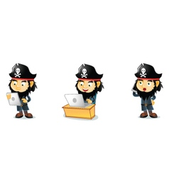 Pirates 3 vector image vector image