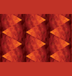 abstract hot red geometric seamless pattern vector image