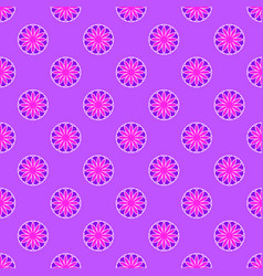 abstract pattern on the violet background vector image