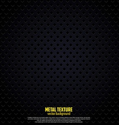 black metal background vector image