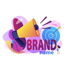 Brand name concept vector