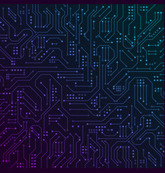 circuit board abstract computer technology vector image