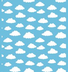 cloudy sky texture vector image