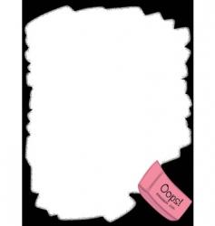 Eraser border vector
