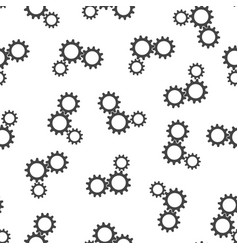 gear seamless pattern background icon flat vector image