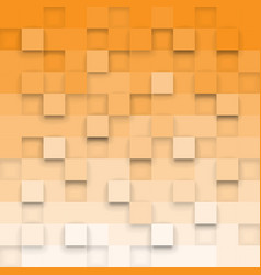 geometric background with 3d cubes vector image