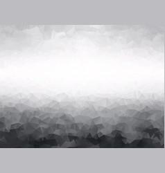 gray geometric landscape background vector image