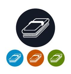 Icon fetlock vector
