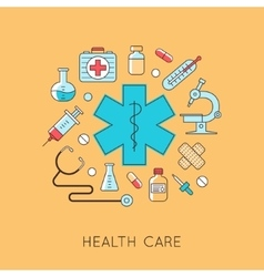 Medicine background vector