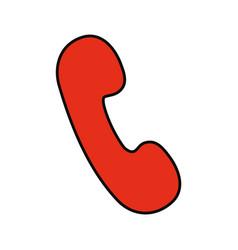 phone sign illsutratio vector image