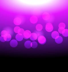 pink dots vector image