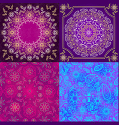 animal skin pattern seamless animalistic vector image