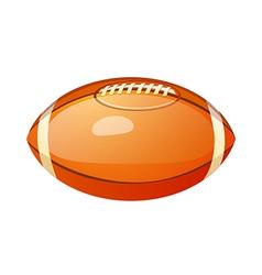 icon football vector image vector image