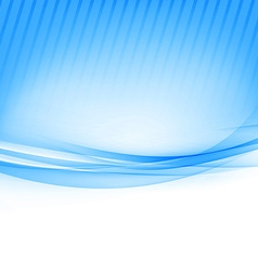 Blue border abstract wave soft background vector image vector image